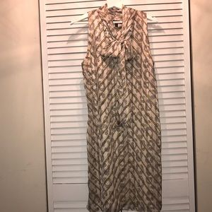 Banana Republic sleeveless dress Sz small